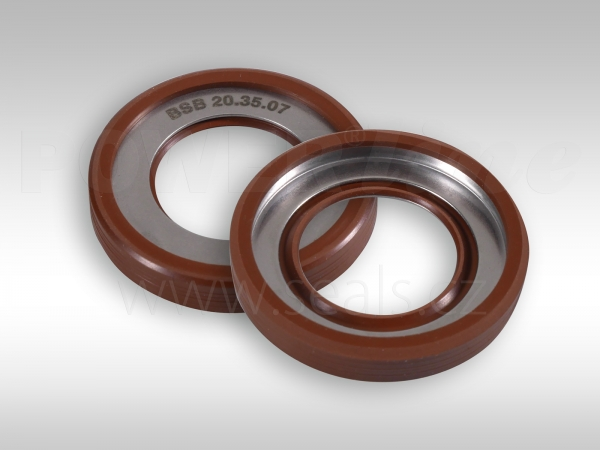 High pressure lip seals