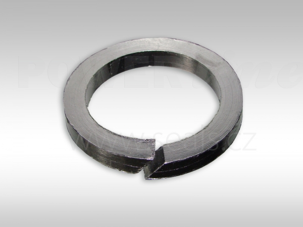 Pressed rings of expanded graphite